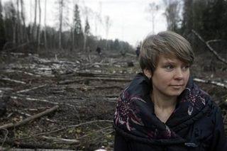 Yevgenia Chirikova in Khimki
