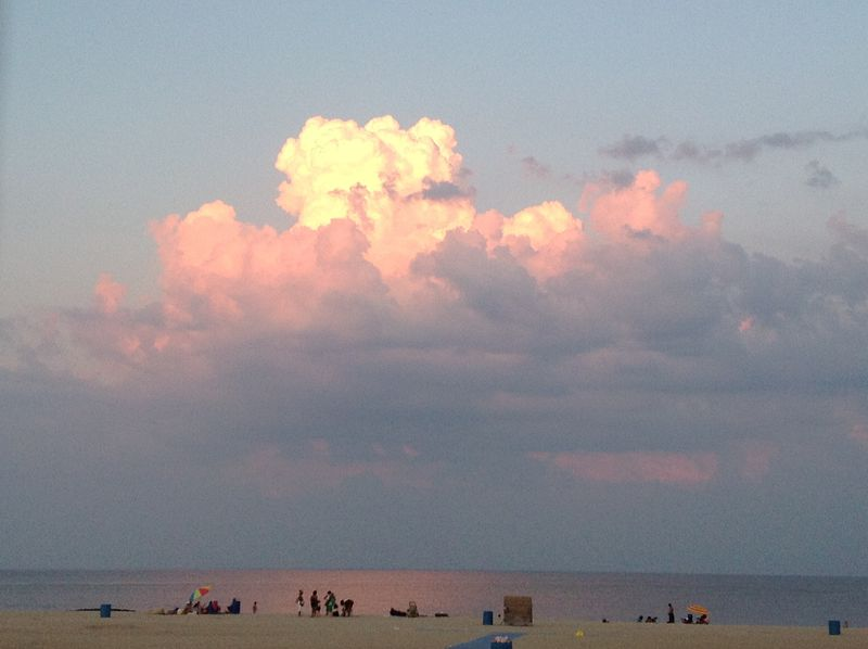 Belmar cloud, Curt Lamb