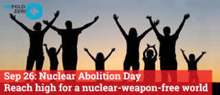 Reach High for a Nuclear Weapon Free World